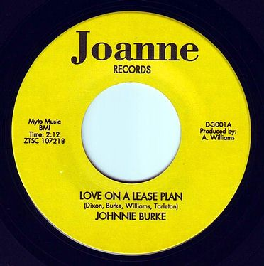 JOHNNIE BURKE - LOVE ON A LEASE PLAN - JOANNE