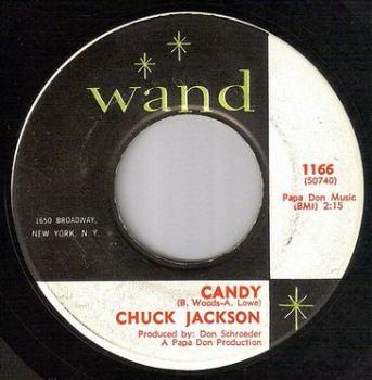 CHUCK JACKSON - CANDY - WAND