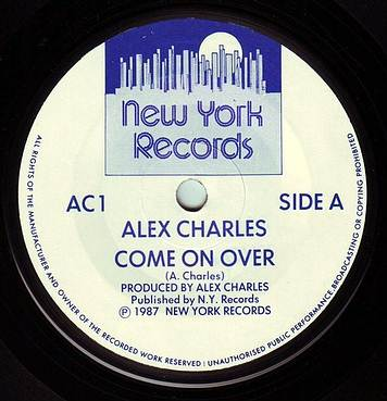 ALEX CHARLES - COME ON OVER - NEW YORK