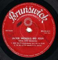 JACKIE WILSON - JACKIE WILSON'S BIG FOUR - BRUNSWICK