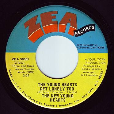 NEW YOUNGHEARTS - THE YOUNG HEARTS GET LONELY TOO - ZEA