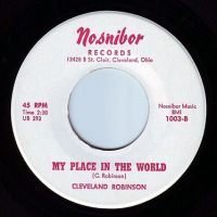 CLEVELAND ROBINSON - MY PLACE IN THE WORLD - NOSNIBOR