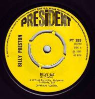 BILLY PRESTON - BILLY'S BAG - PRESIDENT