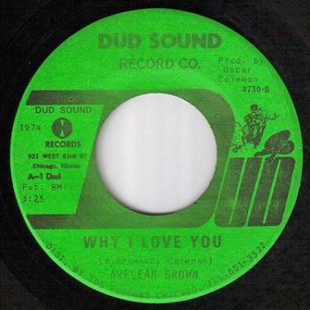 ARLEAN BROWN - WHY I LOVE YOU - DUD SOUND
