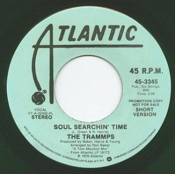 TRAMMPS - SOUL SEARCHIN' TIME - ATLANTIC dj
