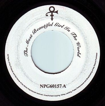 PRINCE - THE MOST BEAUTIFUL GIRL IN THE WORLD - NPG