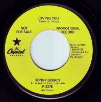 SONNY GERACI - LOVING YOU - CAPITOL DEMO