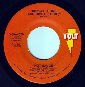 HOT SAUCE - BRING IT HOME - VOLT