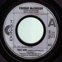 FREDDIE McGREGOR - THAT GIRL - POLYDOR