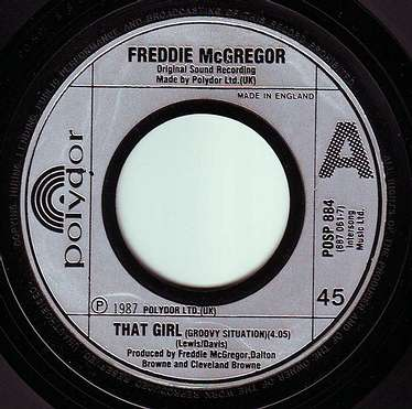 FREDDIE McGREGOR - THAT GIRL - POLYDOR