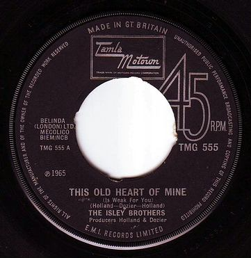 ISLEY BROTHERS - THIS OLD HEART OF MINE - TMG 555