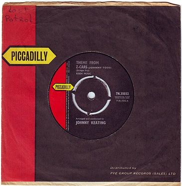 JOHNNY KEATING - THEME FROM Z-CARS - PICCADILLY