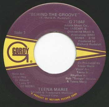 TEENA MARIE - BEHIND THE GROOVE - GORDY
