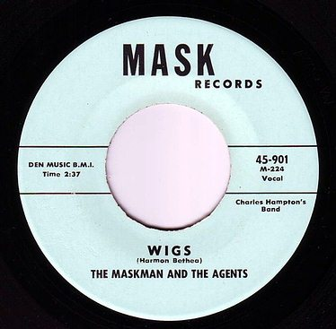 MASKMAN & THE AGENTS - WIGS - MASK