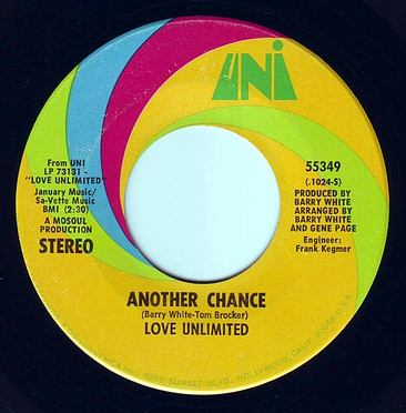 LOVE UNLIMITED - ANOTHER CHANCE - UNI