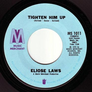 ELOISE LAWS - TIGHTEN HIM UP - MUSIC MERCHANT