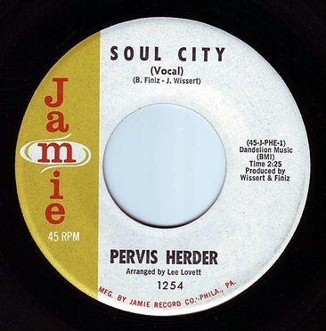 PERVIS HERDER - SOUL CITY - JAMIE