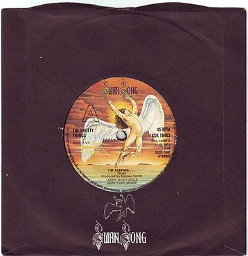 PRETTY THINGS - I'M KEEPING... - SWAN SONG