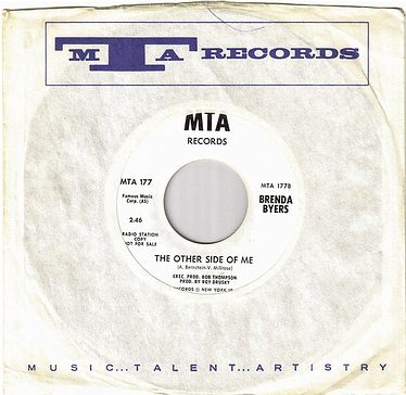 BRENDA BYERS - THE OTHER SIDE OF ME - MTA dj
