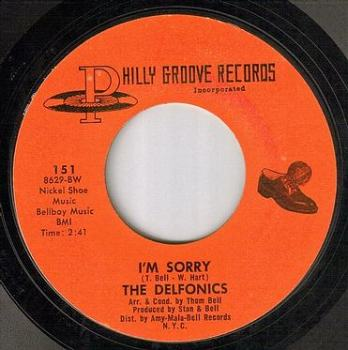 DELFONICS - I'M SORRY - PHILLY GROOVE