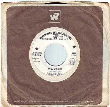 LORRAINE ELLISON - STAY WITH ME - WB DEMO