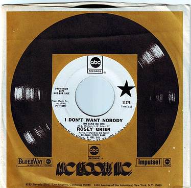 ROSEY GRIER - I DON'T WANT NOBODY (TO LEAD ME ON) - ABC DEMO