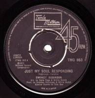 SMOKEY ROBINSON - JUST MY SOUL RESPONDING - TMG 883