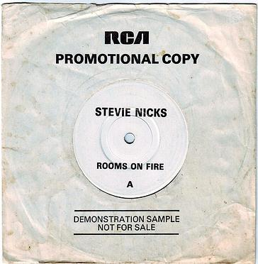 STEVIE NICKS - ROOMS ON FIRE - RCA DEMO