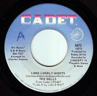 DELLS - LONG LONELY NIGHTS - CADET