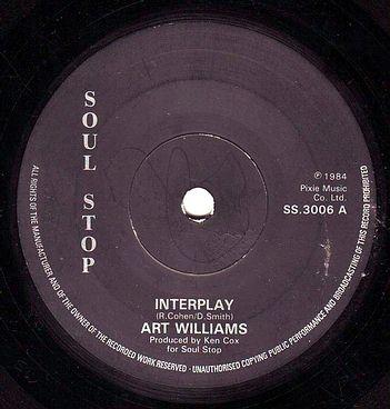 ART WILLIAMS - INTERPLAY - SOUL STOP