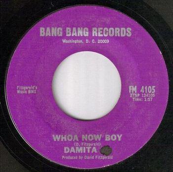 DAMITA JO - WHOA NOW BOY - BANG BANG