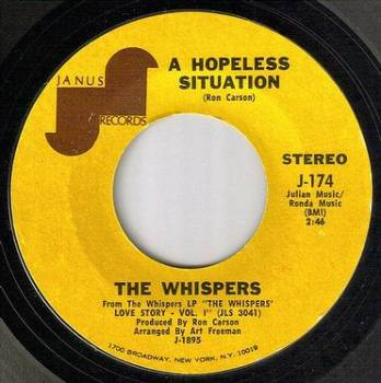 WHISPERS - A HOPELESS SITUATION - JANUS