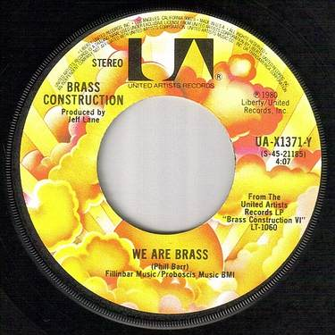 BRASS CONSTRUCTION - WE ARE BRASS - UA