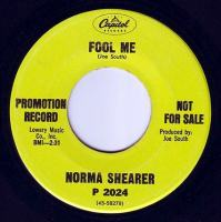 NORMA SHEARER - FOOL ME - CAPITOL DEMO