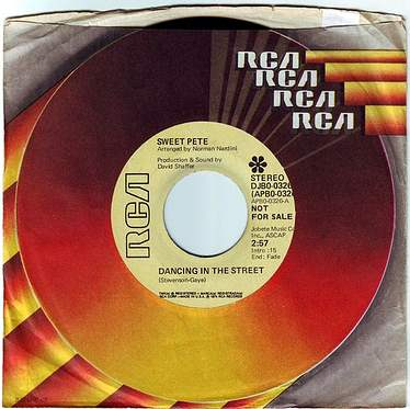 SWEET PETE - DANCING IN THE STREET - RCA DEMO