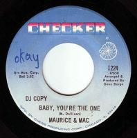 MAURICE & MAC - BABY, YOU'RE THE ONE - CHECKER DEMO