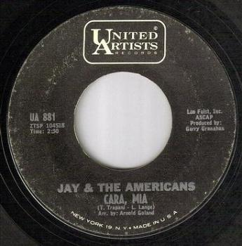JAY & AMERICANS - CARA, MIA - UA