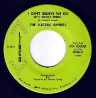ELECTRIC EXPRESS - I CAN'T BELIEVE WE DID (THE WHOLE THING) - LINCO