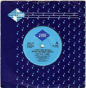 REAL THING - I CAN'T HELP MYSELF - JIVE
