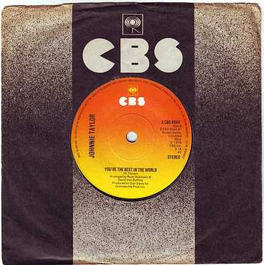 JOHNNIE TAYLOR - YOU'RE THE BEST IN THE WORLD - CBS