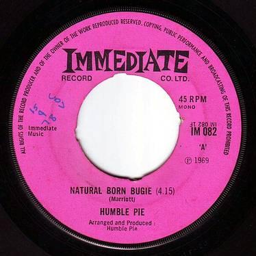 HUMBLE PIE - NATURAL BORN BUGIE - IMMEDIATE