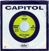 WILLIE HARVEY - WALKIN' - CAPITOL DEMO