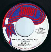 JERRY O - AFRO-TWIST TIME - SHOUT