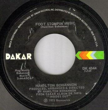 HAMILTON BOHANNON - FOOT STOMPIN' MUSIC - DAKAR