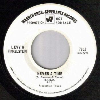 LEVY & FINKELSTEIN - NEVER A TIME - WB dj