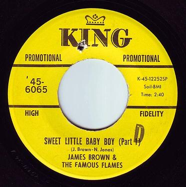 JAMES BROWN - SWEET LITTLE BABY BOY - KING DEMO