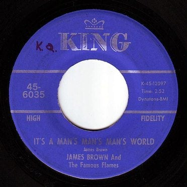 JAMES BROWN - IT'S A MAN'S MAN'S MAN'S WORLD - KING