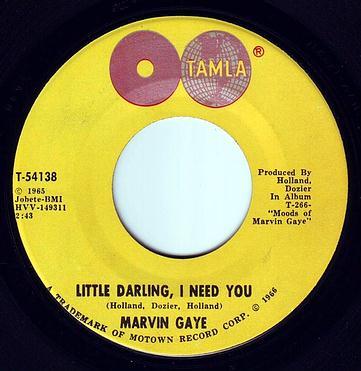 MARVIN GAYE - LITTLE DARLING, I NEED YOU - TAMLA