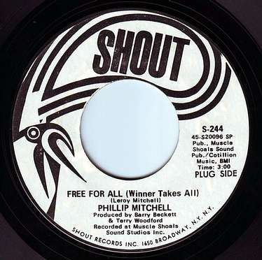 PHILLIP MITCHELL - FREE FOR ALL - SHOUT
