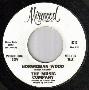MUSIC COMPANY - NORWEGIAN WOOD - MIRWOOD dj